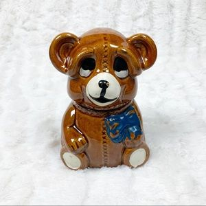 VTG Houston Foods mini teddy bear honey pot